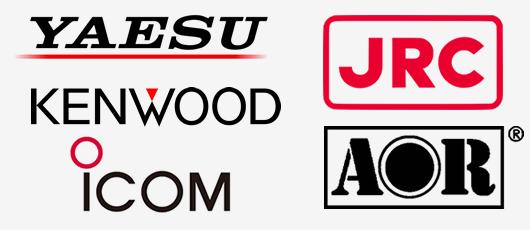 八重洲無線・アイコム・ケンウッド・日本無線・エーオーアール